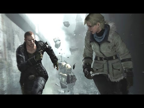 SHERRY AND JAKE!! (Resident Evil 6)