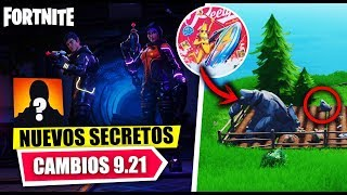 NEW SECRETS *FINAL EVENT* CHANGES IN THE MAP PARK 9.21 FORTNITE BATTLE ROYALE