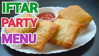 IFTAR PARTY MENU / 11 DAWAT E IFTAR RECIPES by (YES I CAN COOK) #IftarPartyMenu #2019Ramadan