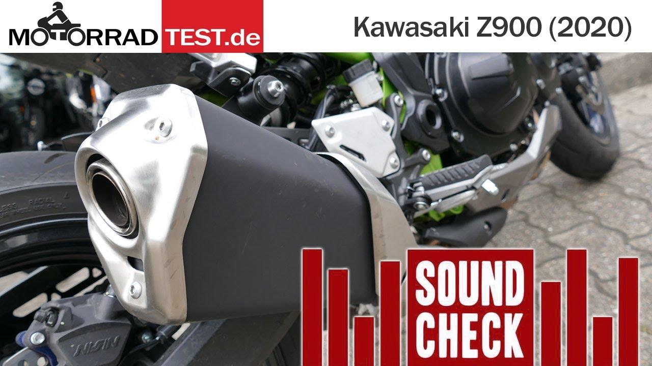 Sound | So klingt die Kawasaki Z900 Jahrgang 2020 mit dem Serien-Schalldämpfer