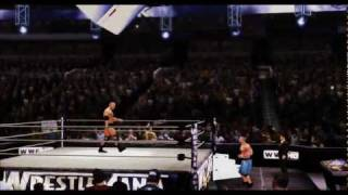 WWE 12 The Rock Vs John Cena