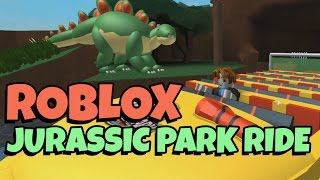 Roblox | THE JURASSIC PARK RIDE