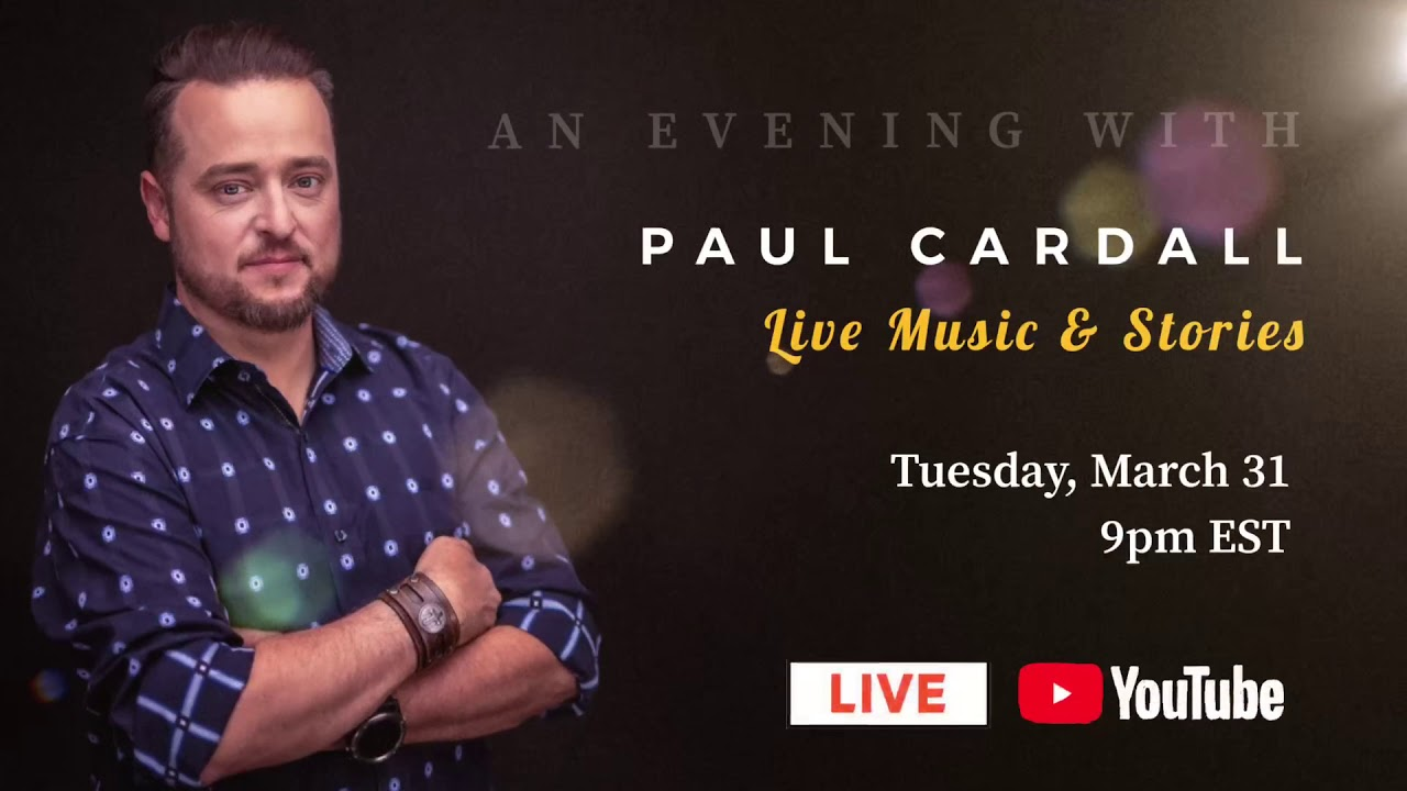 Paul Cardall Live Concert March 31 8pm Ct On Youtube Youtube