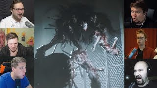 'Реакции Летсплейщиков' на Трехликого Монстра из The Evil Within 2