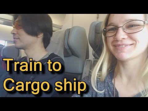 Freighter ship travel story from Georgia to Bulgaria - travel by cargo ship / container ship 화물선 여행