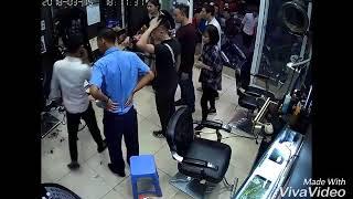 Giang Hồ Xả Súng Trong Tiệm Tóc Ở Hà Nội Chỉ Vì Gái