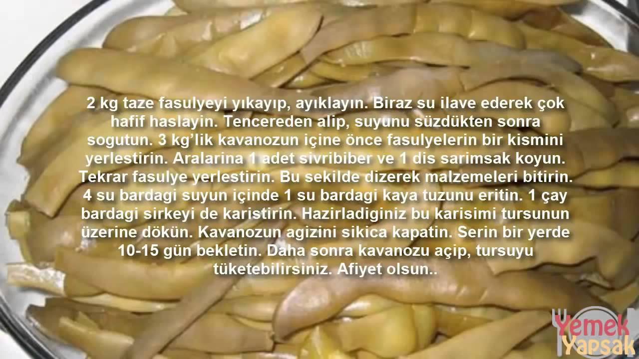 Fasulye Turşusu