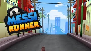 MESSI RUNNER WORLD TOUR Android / iOS Gameplay | Football Soccer Game for Kids