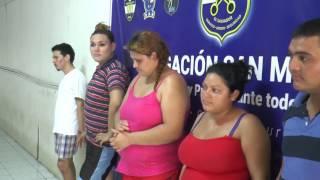 Capturan a peligrosa banda de asaltantes en San Miguel