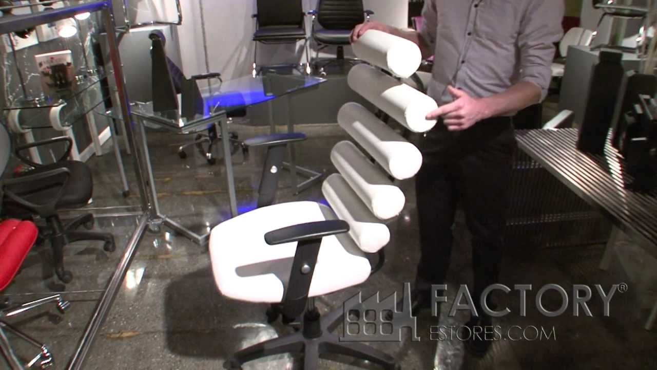 Zuo Unico Office Chair - Factoryestores.com - YouTube