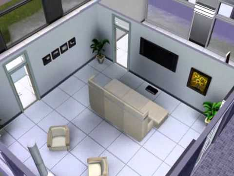 Case moderne the sims 3 1 casa youtube for Case moderne minimal interni