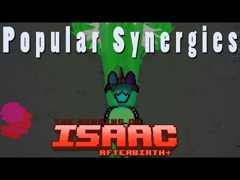 The Binding of Isaac Afterbirth Plus | Celery Rockets | Popular Synergies!