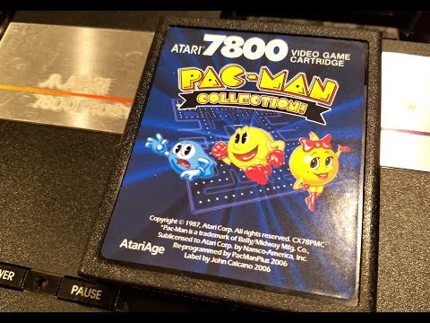Classic Game Room - PAC-MAN COLLECTION! review for Atari 7800