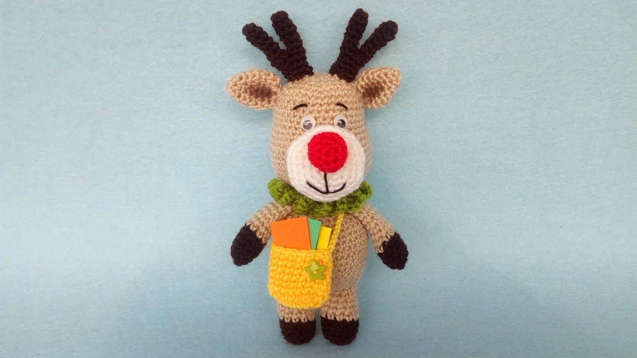 Amigurumi Natale.Renna Amigurumi Tutorial Natale Reindeer Moose Crochet Christmas Reno Crochet Amigurumi