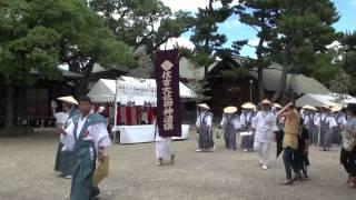 2012年 大阪 住吉祭⑦ 渡御列発進