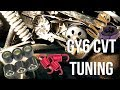 How to Tune a 150cc GY6 CVT - Main Clutch Spring and Variator Weights *detailed