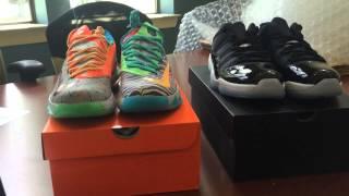 Jordan 11 Infrared & Nike What The KD 6 Raffle Drawing Thumbnail