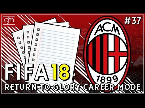 FIFA 18 AC Milan Career Mode: Evaluasi Akhir Musim Pertama Bersama AC Milan #37