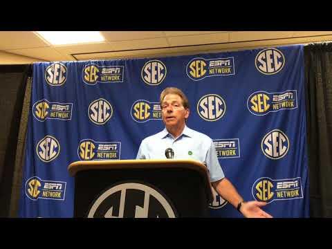 Nick Saban talks Alabama QB, transfers, NCAA rules and 'elephant doodoo'
