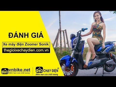 Đánh giá xe máy điện Zoomer Sonik