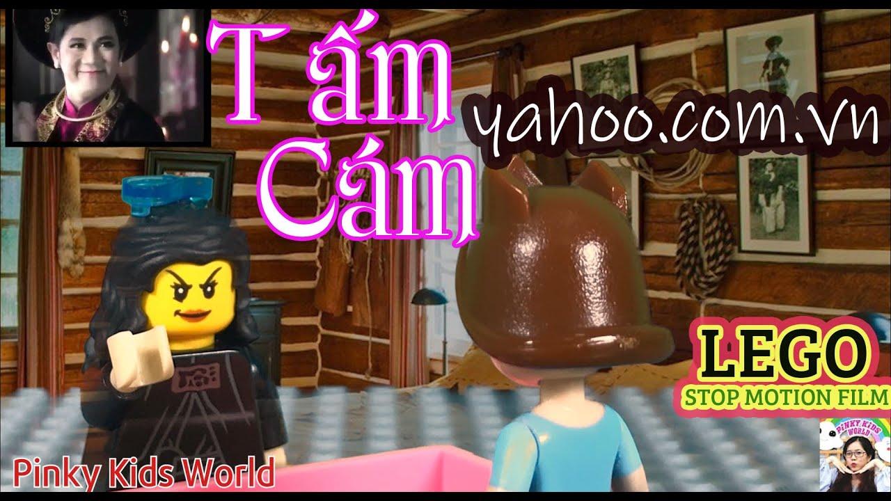LEGO YAHOO | QUẢNG CÁO YAHOO VIỆT NAM | LEGO STOPMMOTION FILM | PINKY KIDS WORLD | KÍ ỨC TUỔI THƠ