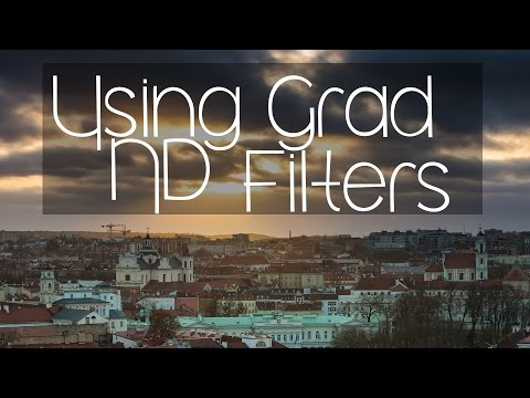 Using a Grad ND Filter System in Vilnius, Lithuania