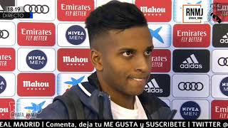 Declaraciones de RODRYGO GOES post Real Madrid 2-1 Sevilla (18/01/2020)