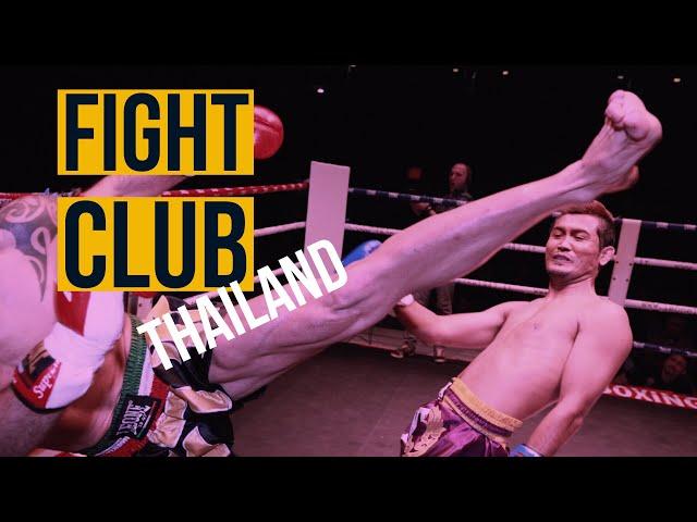 Fight Club Pattaya: Italy Federation