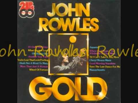 John Rowles -- Massechutsetts