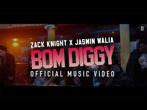 Mix - Zack Knight x Jasmin Walia - Bom Diggy (Official Music Video)