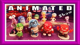Inside Out Toys Headquarters Console Animated Show Old Characters Play Set  New Emotions Disney
