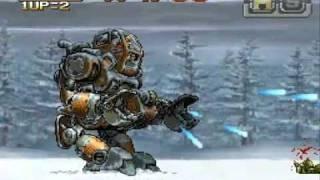 metal slug 7 mission 6 hard mode NO DEATH