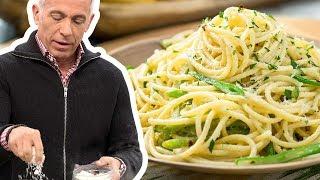 Geoffrey Zakarian Cooks Bucatini al Limone   Food Network