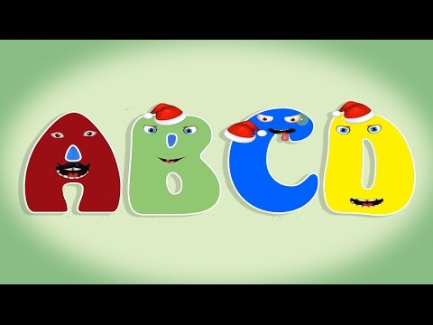 Christmas ABC Song  Learn Letter ABCD to Z for kids with fun