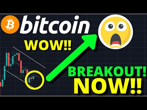 INSANE!!! BITCOIN IS BREAKING OUT RIGHT NOW TO THIS PRICE!! BULLISH ON ETHEREUM!!