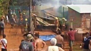 08-03-16 Incendio En Barrio Santa Rosa