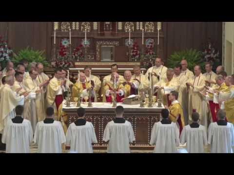 St. Thomas Aquinas - Mass of Dedication