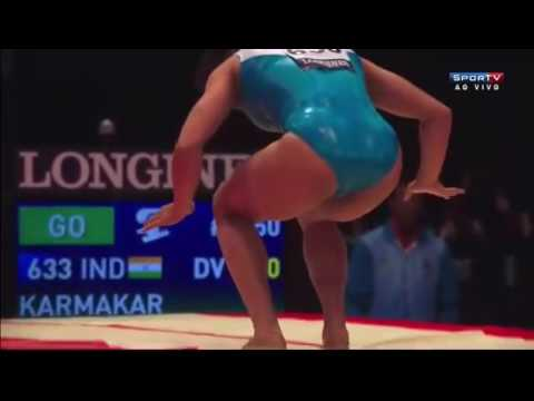Dipa Karmakar best video