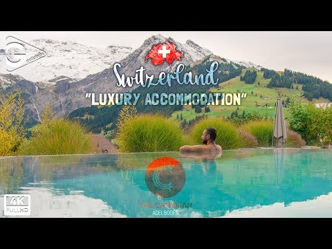 Cambrian Adelboden Hotel In Switzerland With Infinity Pool At Swiss Alps