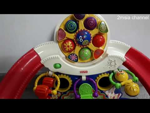 How To Replace Fisher Price Kick & Whirl Carnival Battery