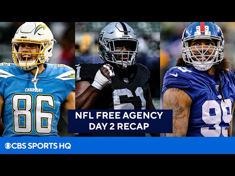 NFL Free Agency Day 2 Recap: Pats Continue to Spend, Jags & Giants Bolster Defense   CBS Sports HQ