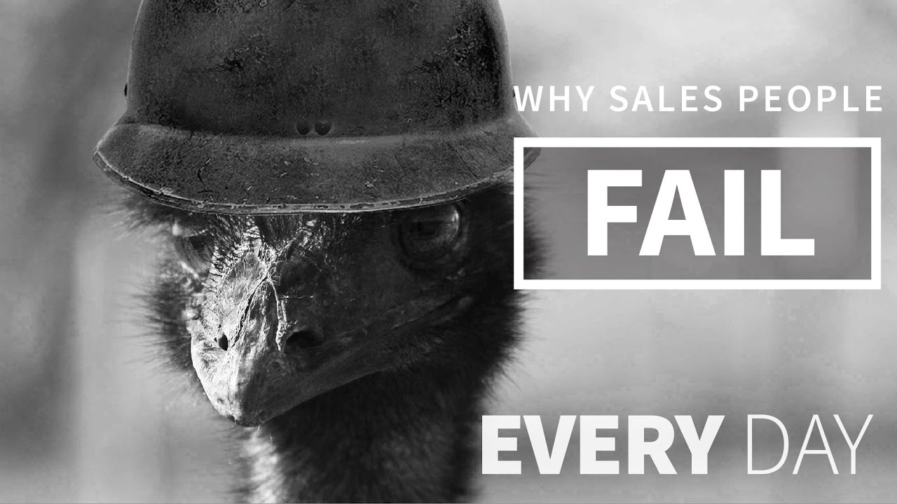 why sales agents fail? essay
