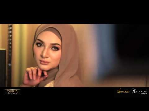 OSRIA JAMALY Songket Kelantan Printed (GOLD EDITION)