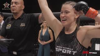 Invicta FC 35: Chelsea Chandler Post-Fight Interview