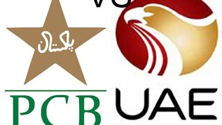 Pak vs UAE - Asia Cup Match preparation