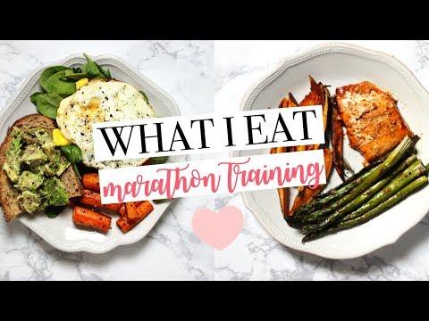 WHAT I EAT | Marathon Training | Healthy & Easy Meal Ideas!