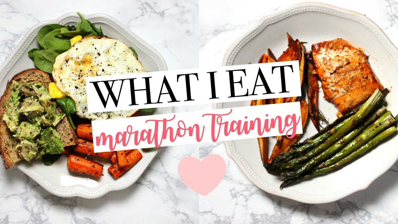 <div>WHAT I EAT   Marathon Training   Healthy & Easy Meal Ideas!</div>