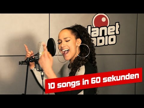 10 songs in 60 sekunden –aisha von planet radio