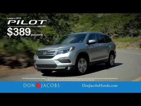 Don Jacobs Honda >> 2018 Fit Pilot Hr V At Don Jacobs Honda In Lexington Kentucky