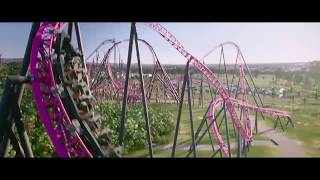 DC Rivals HyperCoaster - first onride POV recordings and opening date - Warner Movie World Australia